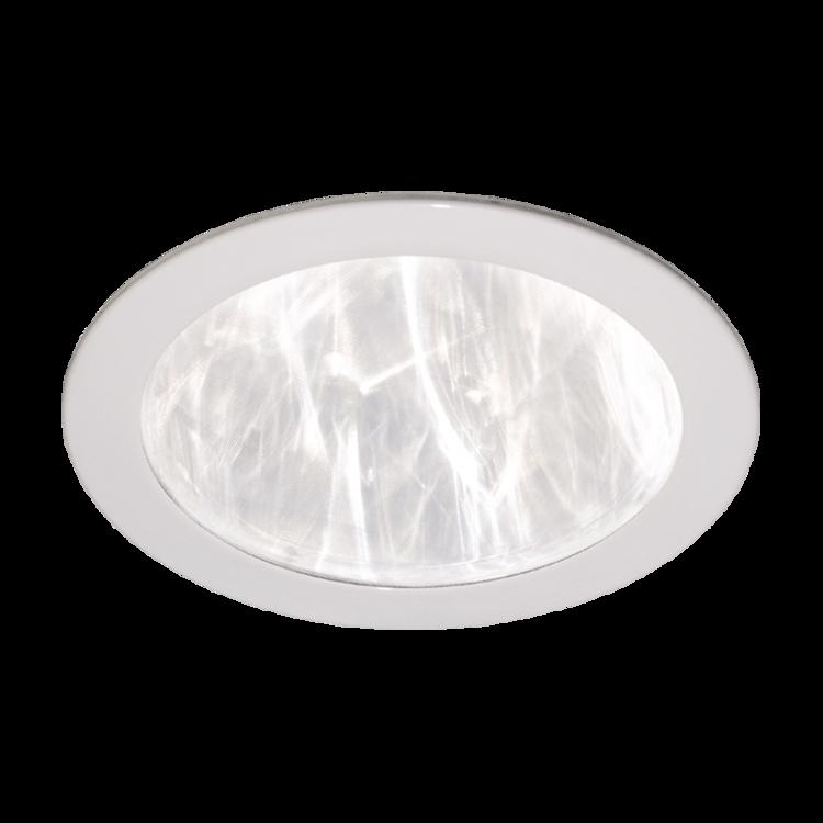 Dyfuzor sufitowy plastikowy biały prosty