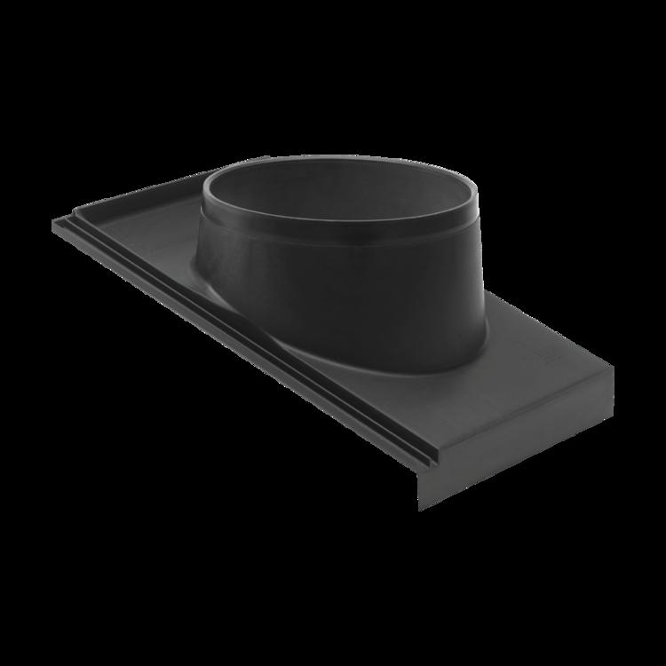 Obrzeże do skośnego dachu – okładzina składana
