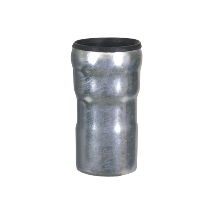 Część przejściowa zrury LORO na rurę plastikową systemu KG bądź HT